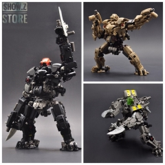 Rihio Multiabyss MM-003 V-Link Mecha Vermin Slasher Core Motorbike Set of 3