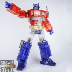 Lewin Resources LW-01B Optimus Prime Clear Limited Edition w/ LED
