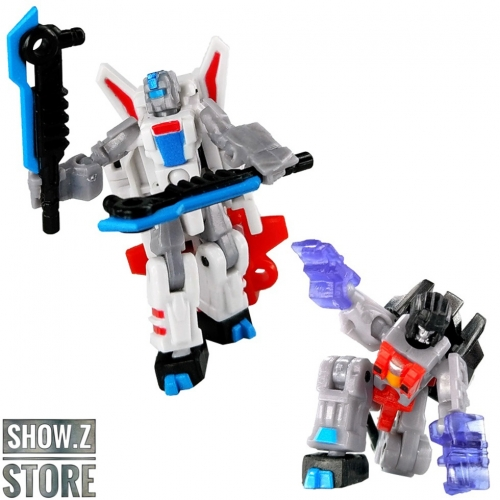 X2Toys XT013 Frozen & Starlight Starscream & Jetfire Set of 2