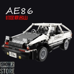 Super 18K MOC Initial D The AE86