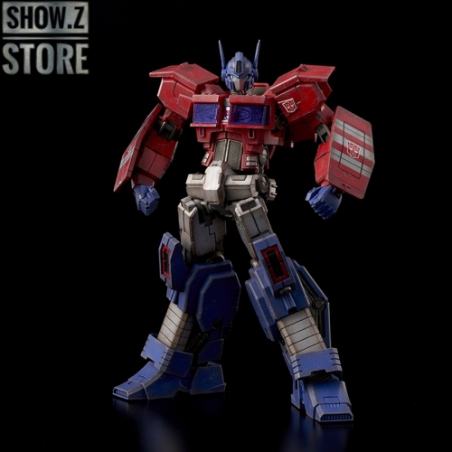 Flame Toys Furai Model IDW Optimus Prime Battle Damaged Version