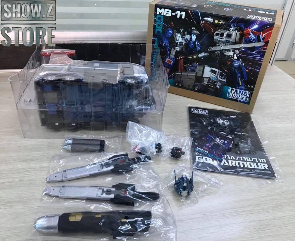 Pre-Order FansHobby FH MB-11 MB11 God Armor Master Builder Original Version