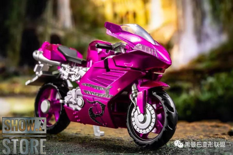 Aoyi BlackManBa LS-19 Blue Pink Purple Arcee,in stock!