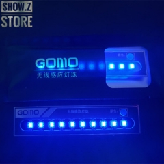 GOMO Wireless Blue LEDs for Lighting System Set of 10