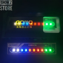 GOMO Wireless White/Red/Orange/Blue/Green LEDs for Lighting System Set of 10