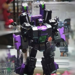 [Pre-Order] IronFactory EX-30D Darkness Cygnus Jetfire Shattered Glass Version