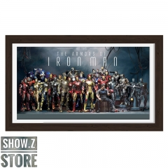 ChenFu Studio The Armors of Iron Man 3D Wall Art Decoration Picture