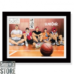 ChenFu Studio Slam Dunk Hard Training Before the Decisive Game Wall Art Decoration Picture
