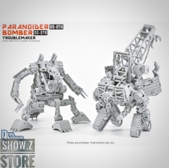 [Pre-Order] Devil Saviour DS-07A Paranoider Hightower & DS-07B Bomber Bulldozer Set of 2