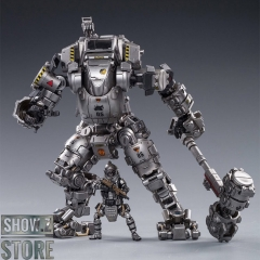 JoyToy Source 1/25 H02 Steel Bone Attack Mecha Silver Color w/  Pilot
