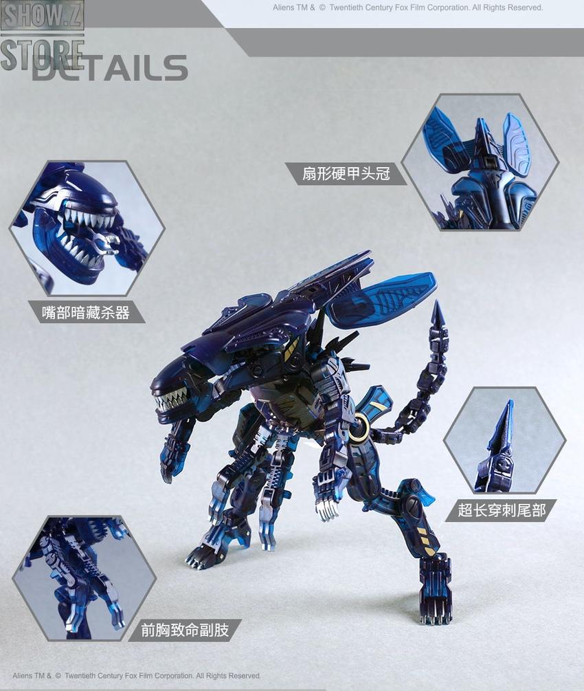 IN STOCK 52Toys BEASTBOX Aliens Xenomorph Queen Action Figure