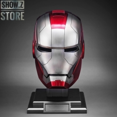 [Pre-Order] [Remote/Touch Control] AutoKing 1:1 Iron Man Mark 5 Helmet w/ LED