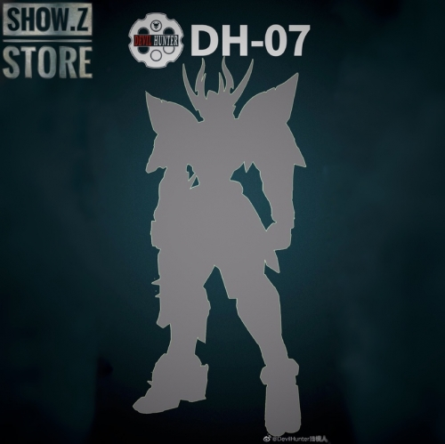 [Pre-Order] Devil Hunter DH-07 1/72 Metal Frame Alloy Complete Model