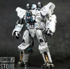 Generation Toy GT-10A Gorilla Optimus Primal Chrome White Version