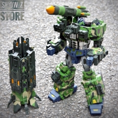 TFC Toys STC-01NB Supreme Techtial Commander Optimus Prime Nuclear Blast Version
