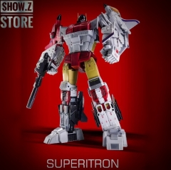 Zeta Toys ZB-06 Superitron Superion Metallic Full Paint Version Set of 6