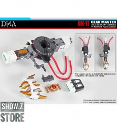 [Pre-Order] DNA Design DK-17 Upgrade Kit for Big Convoy Matrix Buster