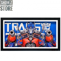 ChenFu Studio Transformers: Dark of the Moon Optimus Prime 3D Wall Art Decoration Picture