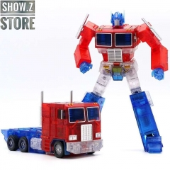 Transform Element TE-01T Optimus Prime Transparent Version