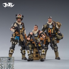 JoyToy Source 1/18 Hardcore Coldplay Hell Skull Paratrooper Squad Set of 3