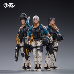 [Pre-Order] JoyToy Source 1/18 War Stars Starhawk 12th Peron Patrol Set of 3