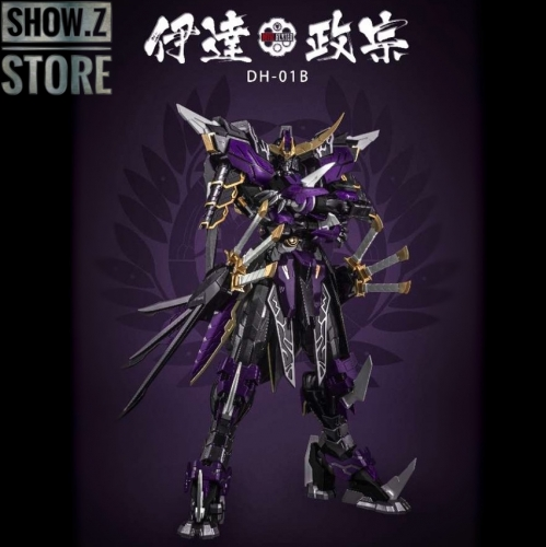 Devil Hunter DH-01B 1/72 Date Masamune Gundam Metal Build Black Limited Version