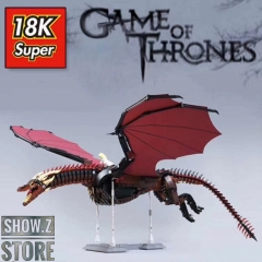 Super 18K MOC Drogon Game of Thrones