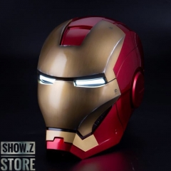 Killerbody 1/1 Iron Man Mark VII Wearable Helmet w/ Voice Control Battle Damaged Version