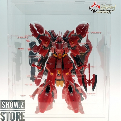 Model Legend 1/144 MSN-04 Sazabi Internal Structure Showcase Display
