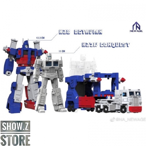 [Pre-Order] Newage H27W Conquest & H28 Octavian Armored Ultra Magnus