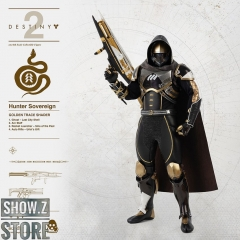Threezero Studio 1/6 Destiny 2 Hunter Sovereign Golden Trace Shader Version