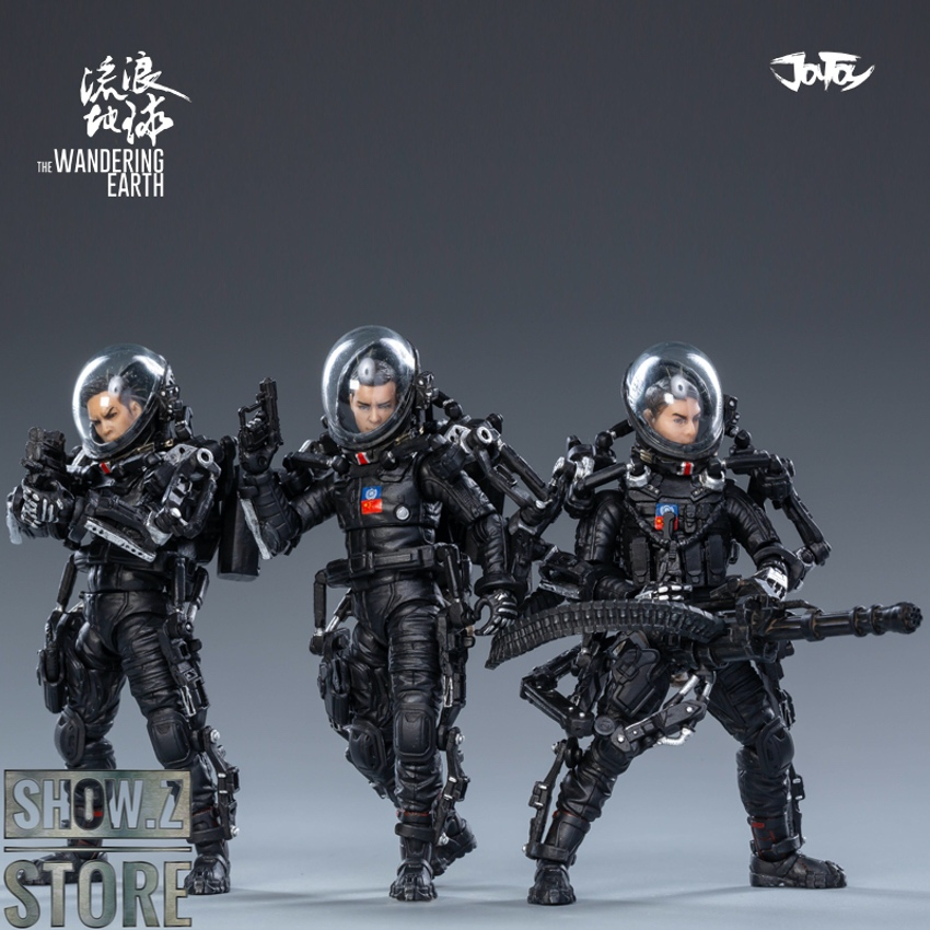JoyToy 3.75/' United Earth Government China Rescue Team Action Figures In Stock!!