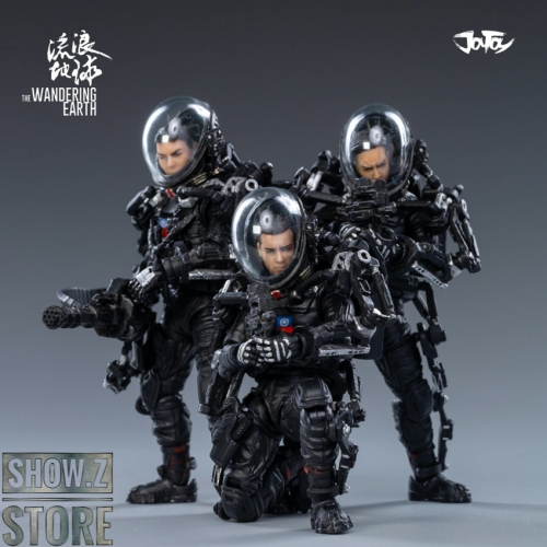 JoyToy Source The Wandering Earth United Earth Government China Rescue Team Set of 3