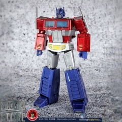 Magic Square MS-B18X+ Light of Justice Optimus Prime Metallic 2.0 Version