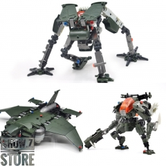 Rihio Multiabyss MM004 Sky Limulus + Ground Horsefoot & MM005 Vermin Slahser MK2 Set of 3