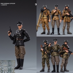 JoyToy Source 1/18 WWII German Wehrmacht Spring & Autumn Camouflage Set of 7
