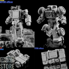 [Pre-Order] Dr.Wu DW-E02 Monitor Officer Soundwave & DW-E03 Big Surge Beachcomber Set of 2