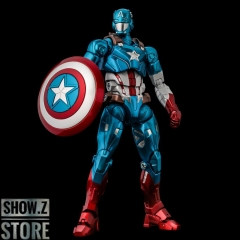 [Pre-Order] Sentinel Toys Captain America Marvel Comics Fighting Armor