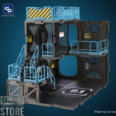 [Pre-Order] FreshRetro 1/18 1/24 SIB03 Scene In Box Fortifications-A Model Kit