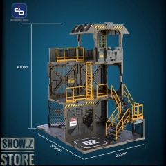 [Pre-Order] FreshRetro 1/18 1/24 SIB02 Scene In Box Guard Tower Model Kit