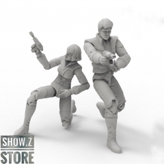 [Pre-Order] Warriors Workshop WWS-C01 Scientist Couple Spike & Carly Set of 2