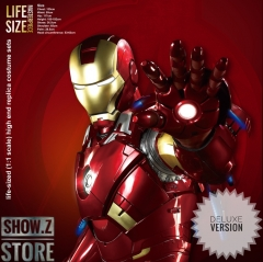 [Pre-Order] Killerbody 1:1 Iron Man MK7 Wearable Armour Newly Upgraded Deluxe Version