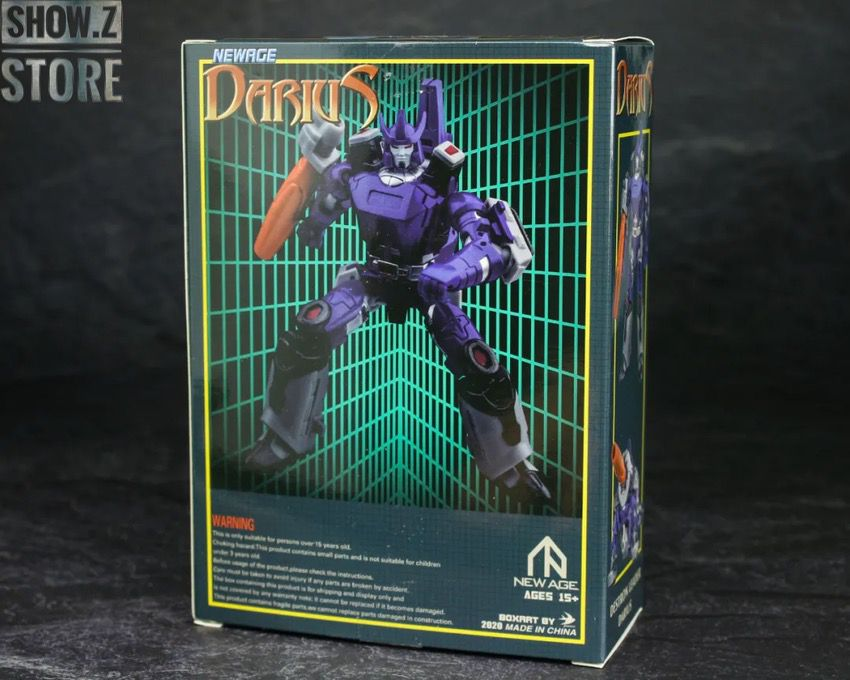 Details about  /New Arrival Newage NA H23 Darius Galvatron Action Figure Toy Transform In Stock