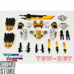 [Pre-Order] Transform Dream Wave TCW-06T POTP Volcanicus Upgrade Kit Metallic Version