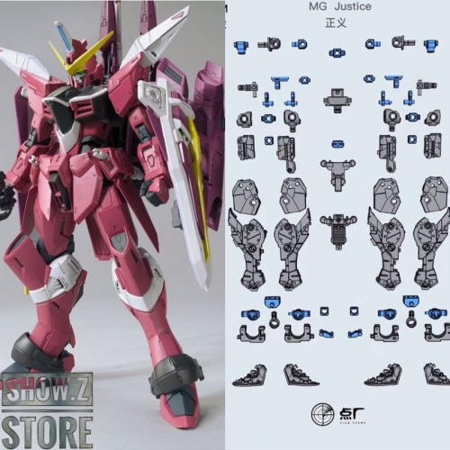 [Pre-Order] Dot Workshop PFS02-2 Metal Parts for Bandai MG ZGMF-X09A Justice Gundam