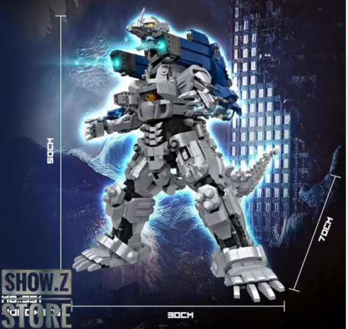 [Pre-Order] Lepin/66 Block Model No.991 Mechagodzilla