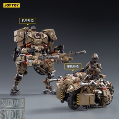 [Pre-Order] JoyToy Source 1/18 X-HH02 Hurricane Heavy Firepower Dual Mode Mecha Sand Version