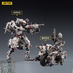 [Pre-Order] JoyToy Source 1/18 X-HLA01 Hurricane Light Assault Dual Mode Mecha White